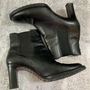 Cole Haan Shoes - Cole Haan, black leather, ankle boot, US 10, heel